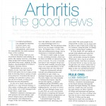 Arthritis, the good news, be , AXA PPP