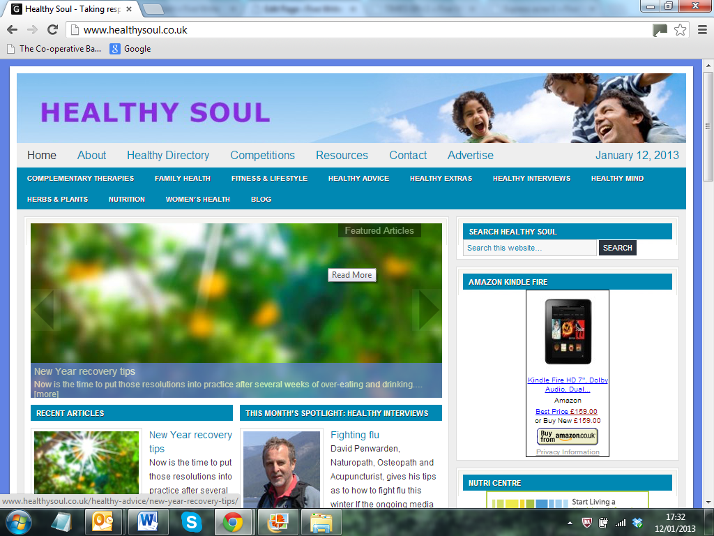 Healthy Soul www.healthysoul.co.uk