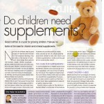 Do children need supplements? Here's Health