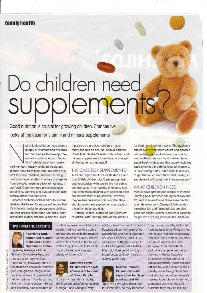 children supps1